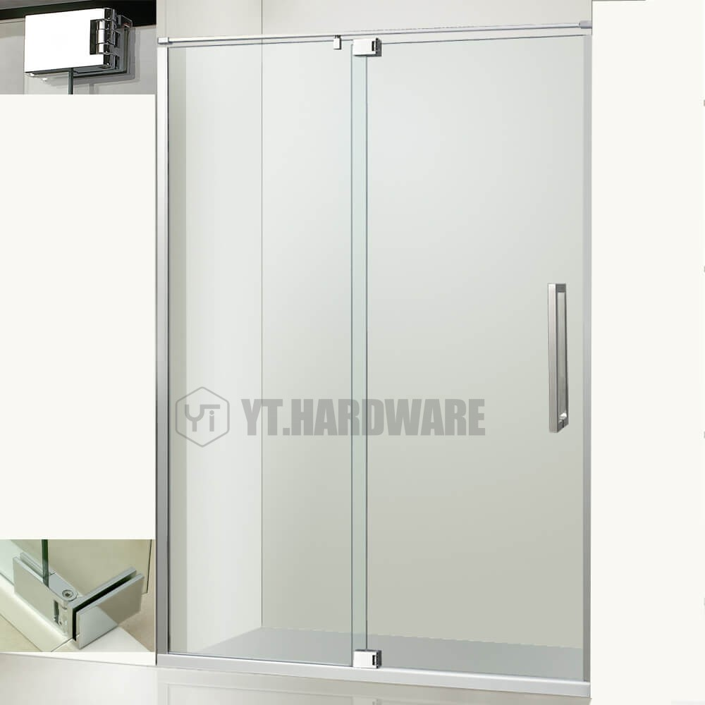 shower door hinges for glass doors