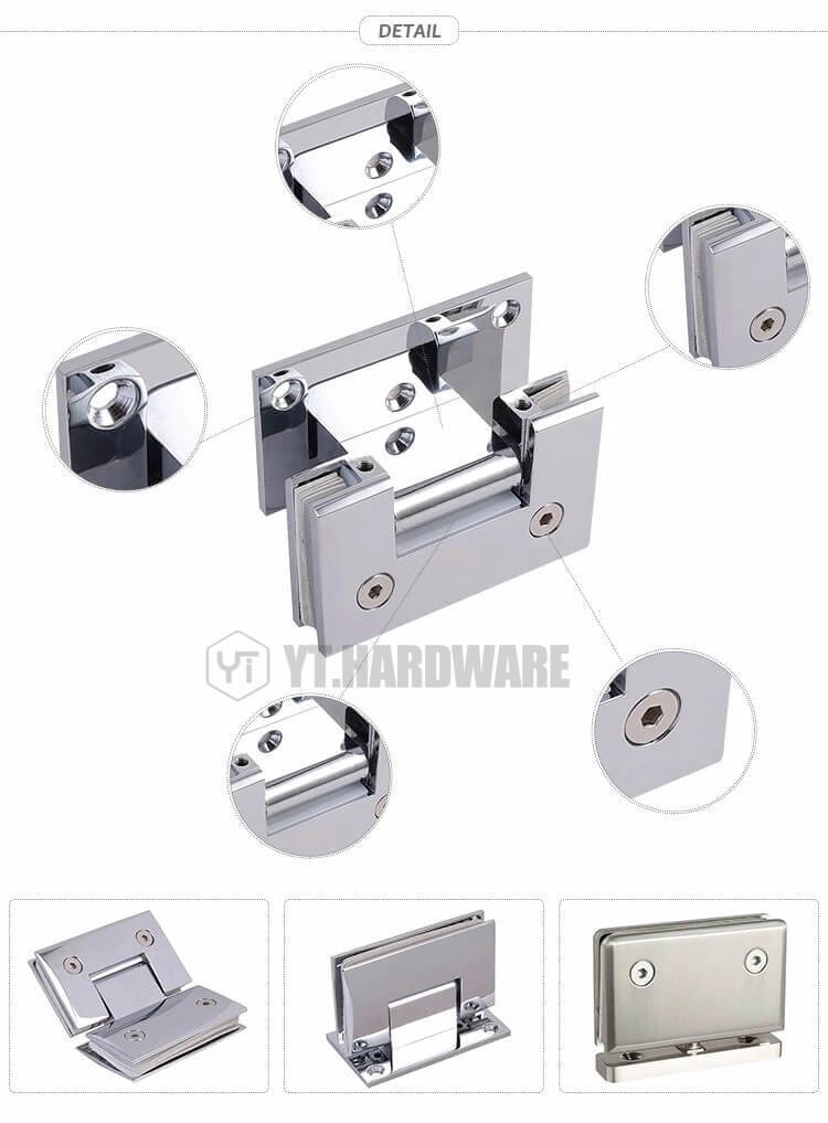 glass door pivot hinge