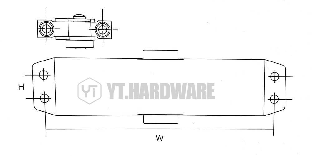 yt-060 concealed door closer