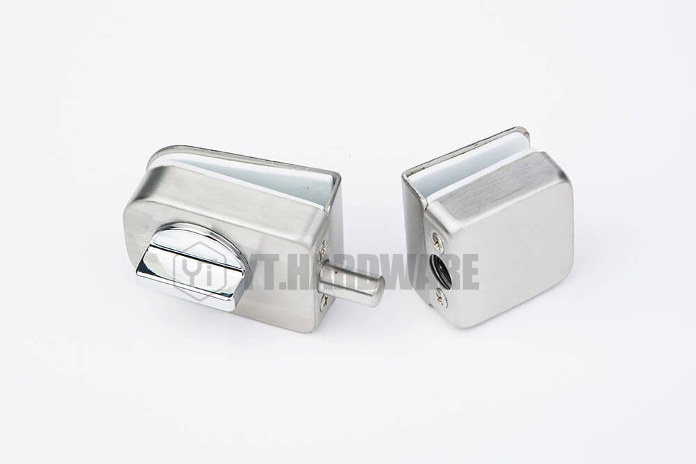 Glass Door Lock For Swing Hinged Frameless