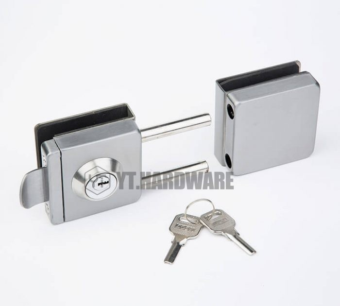 yt-gdl133a glass gate lock