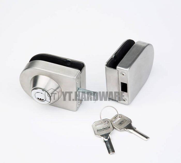 yt-gdl507a glass gate lock
