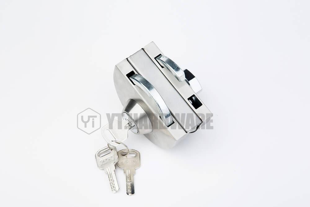 Door Lock Sliding Inside Outside Open Whole Yt Gdl666b Glass