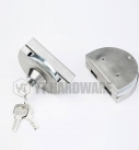 yt-gdl666c glass door lock