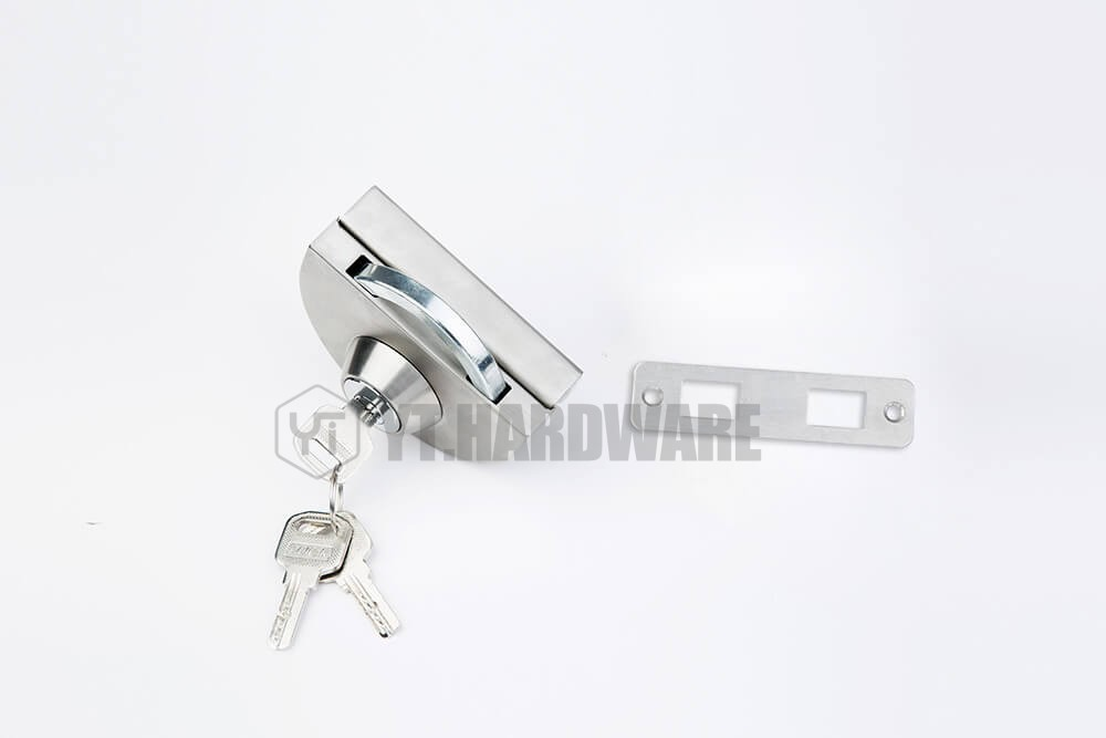 Yt Gdl666d Glass Gate Lock