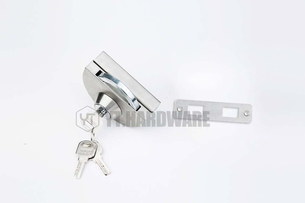 frameless glass door locks different design wholesale