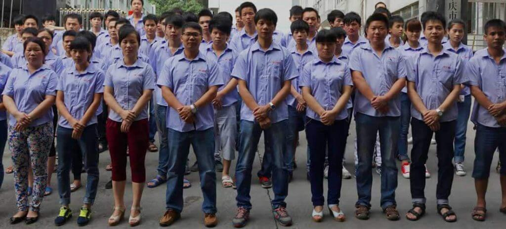 yt glass hardware factory staff